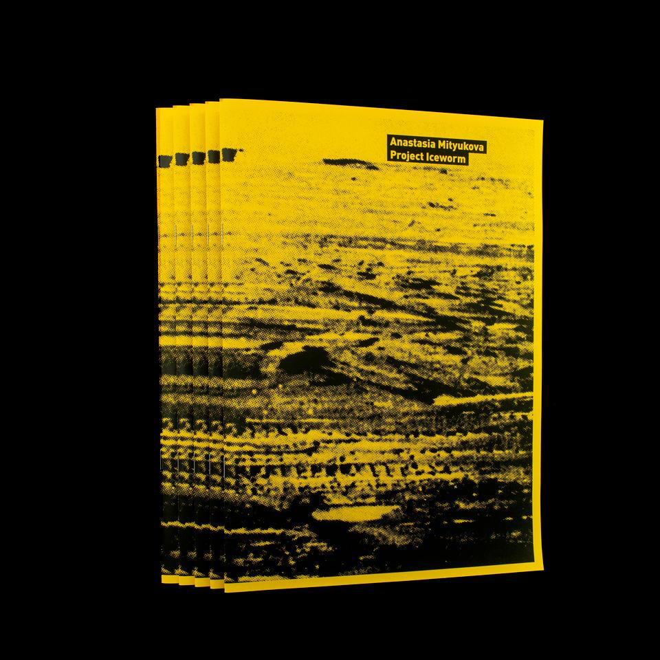 Ausstellungspublikation / Anastasia Mityukova: Project Iceworm