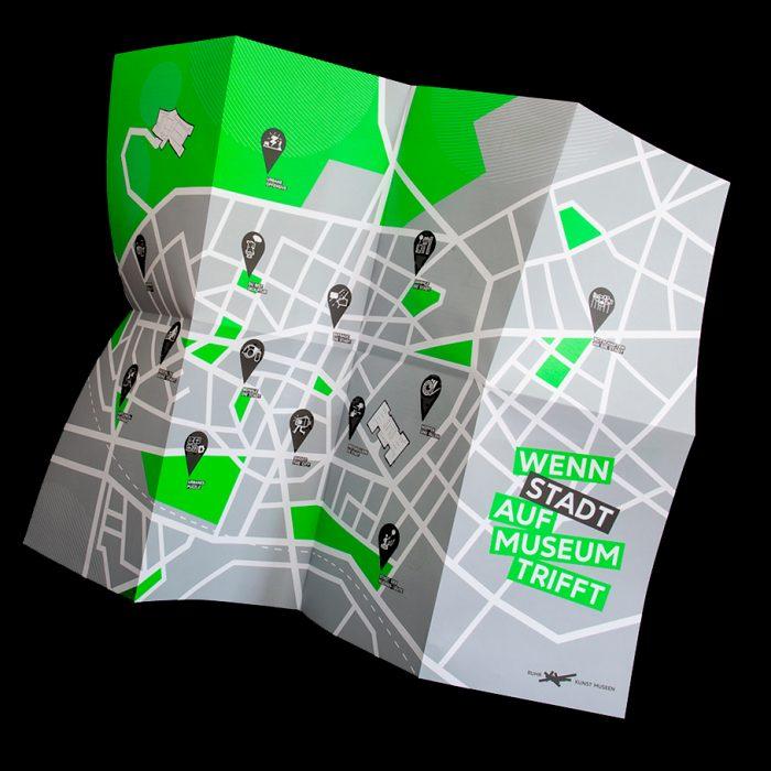 RuhrKunstNachbarn Dokumentation Plakatgestaltung