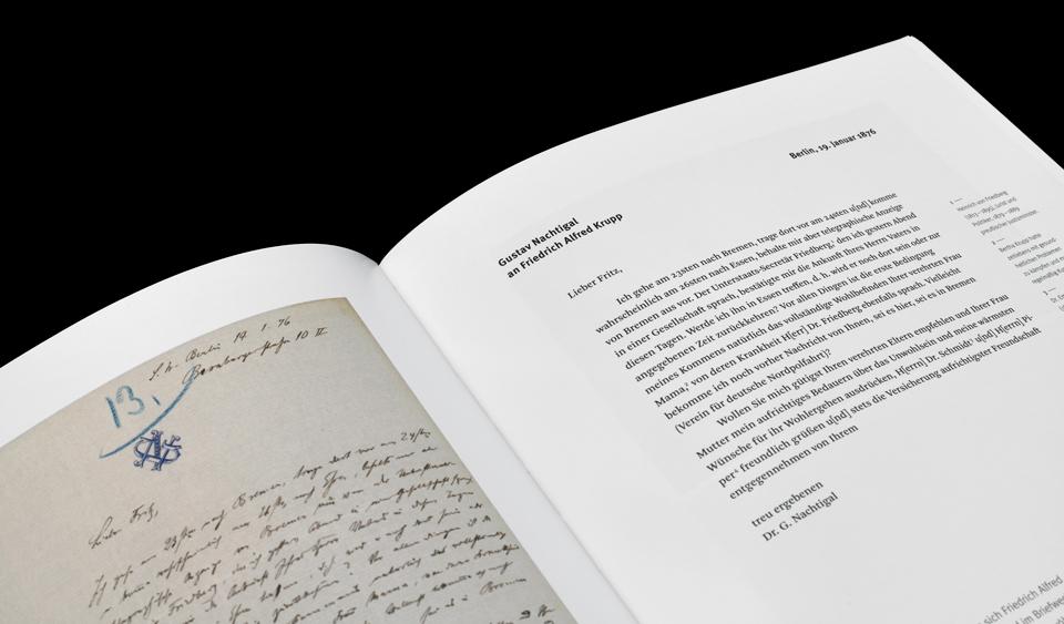 Buchgestaltung / Humbold dankt Adenauer dementiert / Historisches Archiv Krupp