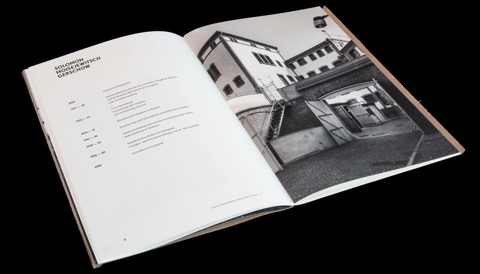 Kataloggestaltung zur Ausstellung Solomon Gerschow: Kunst aus dem Gulag