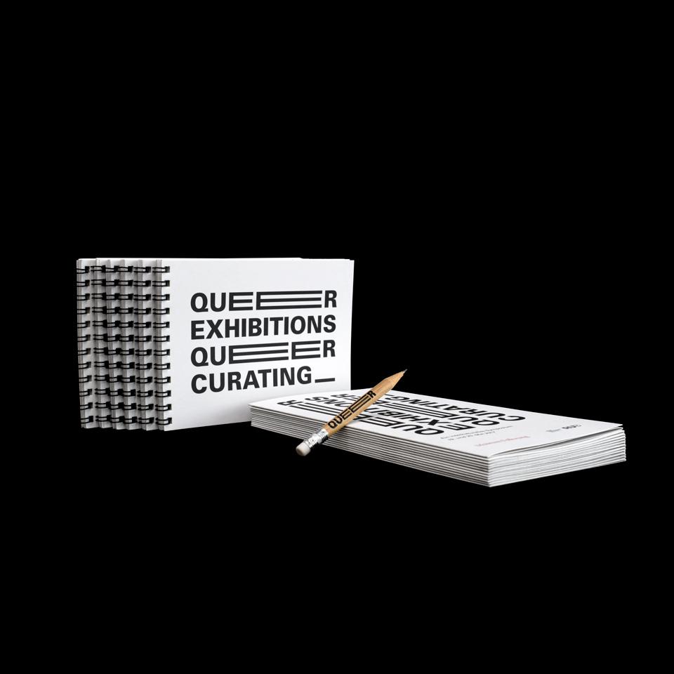 Corporate Design und Veranstaltungskommunikation / Queer Exhibitions Queer Curating / Museum Folkwang