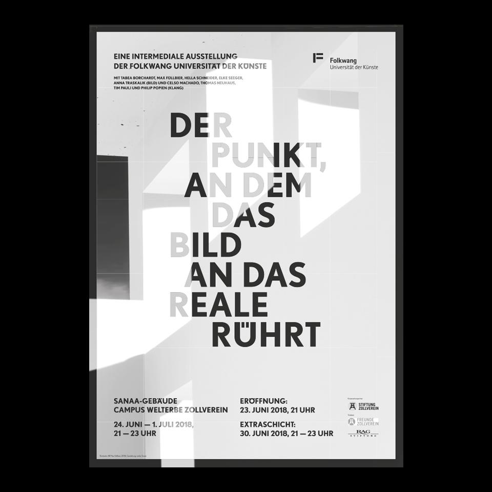 Plakatgestaltung und Ausstellungskommunikation/ Folkwang Universität der Künste