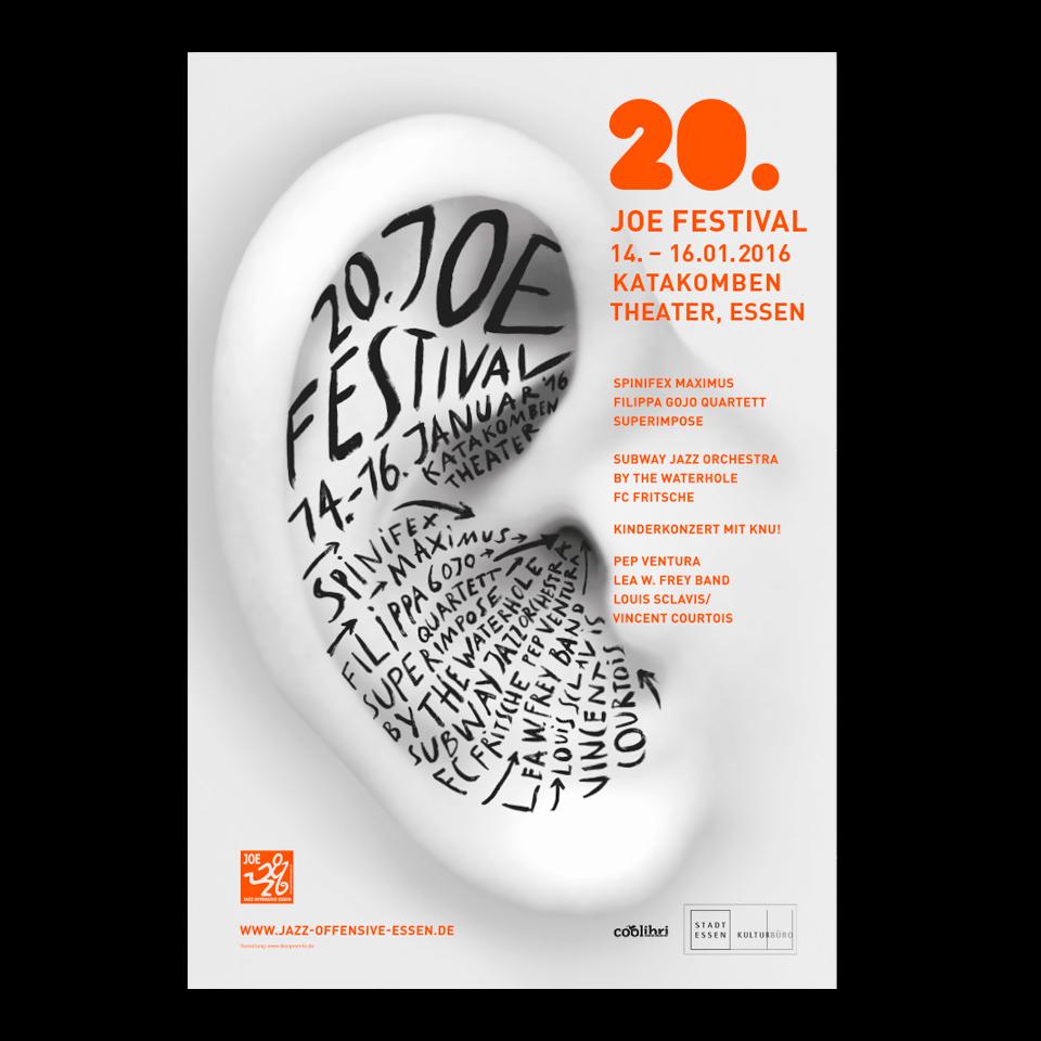 Plakatgestaltung / Joe Jazz Festival