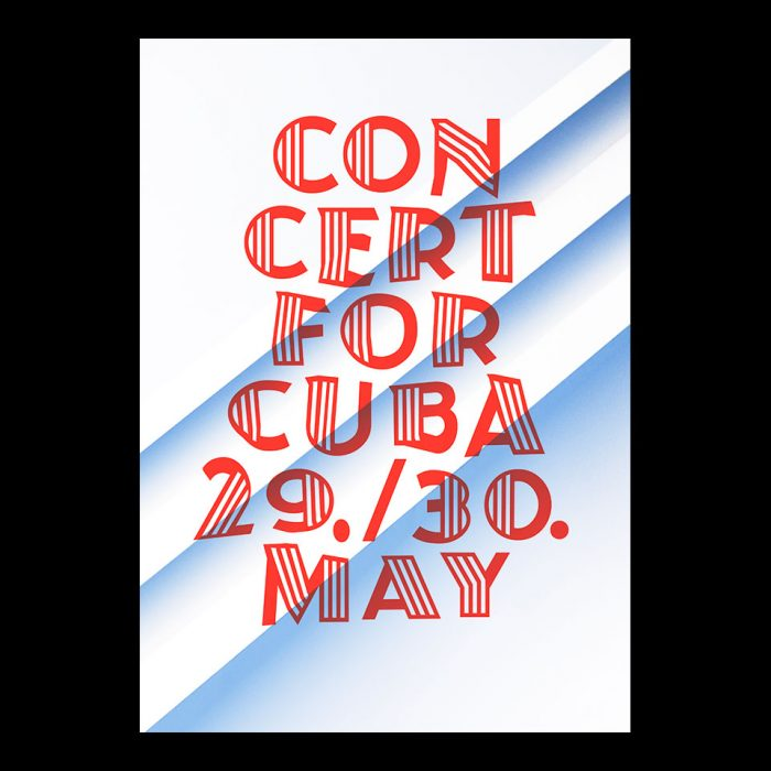 Plakatgestaltung Konzert