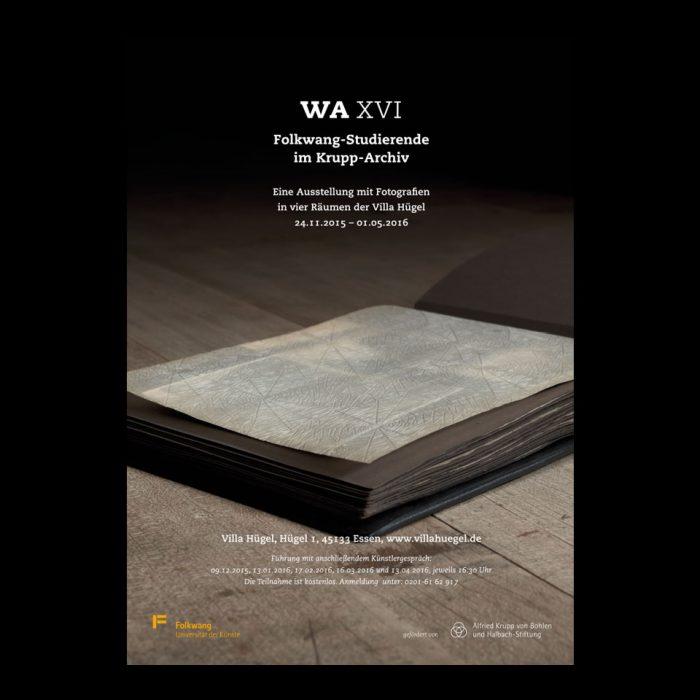 Plakat- und Kataloggestaltung/ WA XVI/ Historisches Archiv Krupp
