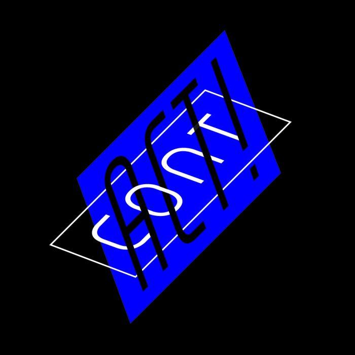 Typografisches Keyvisual für Cont.Act!